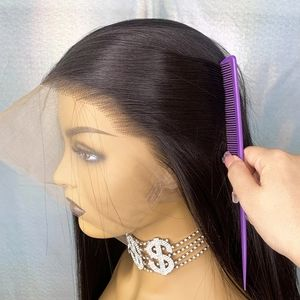 Accessories - Natural Pre-Plucked Human Hair Lace  Wig